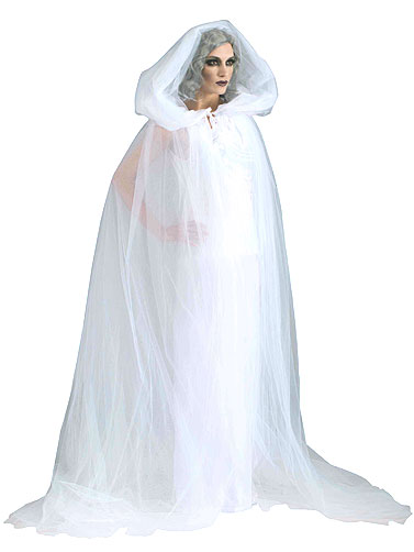 The Haunted White Ghost Costume, Adult Halloween Costumes White Kimono Ghost