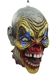 Zombie Clown Severed Head Prop