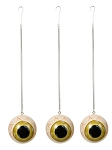 Green Hanging Eyeball Ornaments