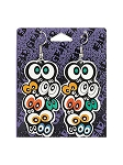 Creepy Eyes Paper Earrings