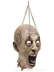 Severed Head Prop with Eyelid Chain
