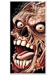 Giant Zombie Door Cover