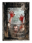 Zombie Window Scene Decoration