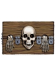 Evil Skeleton Stockade Cling