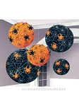Spider Web Paper Lanterns Pack