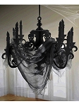 Haunted Mansion Candelabra with Gauze