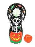 Halloween Inflatable Ball Toss Game