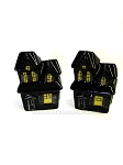 Haunted House Salt and Pepper Shakers