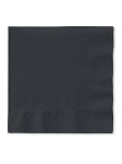 Black Luncheon Napkins