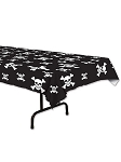 Pirate Plastic Table Cover
