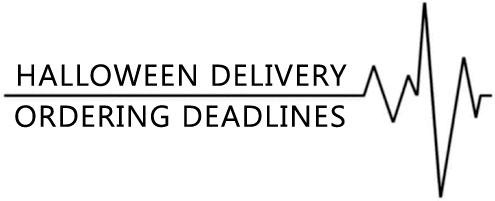 Halloween Ordering Deadlines