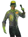 Biohazard Zombie Security Guard Costume