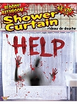 Bloody Bathroom Shower Curtain