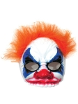 Evil Clown Mask with Hair