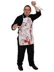 Bloody Fabric Apron