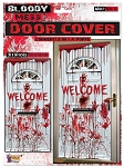 Bloody Mess Welcome Door Cover