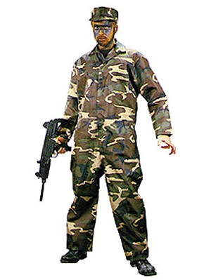 Covert Commando Costume