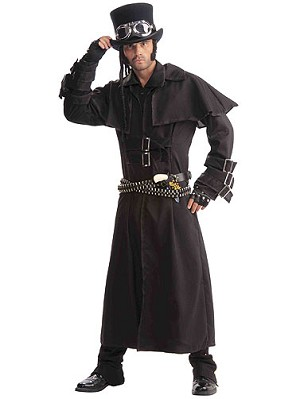 Steampunk Duster Coat Costume