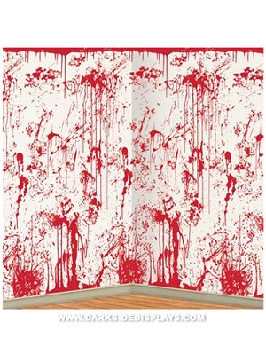 Insta-Theme Bloody Wall Backdrop