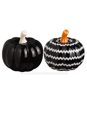 Black Mini Pumpkin Shakers