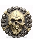 Skull and Crossbones Wall Decoration
