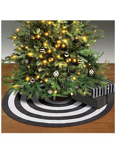 quick view - Black Christmas Tree Skirt