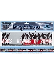 Beware of Zombies Warning Tape