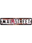 Maim Street Sign Prop