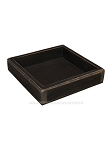 Black Wooden Candle Box