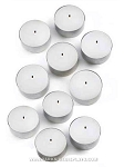 White Tealight Candles