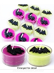 Cat and Bat Halloween Tea Light Candles
