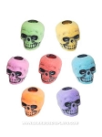 Colored Skull Beads