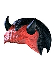 Devil Plate Latex Head Mask