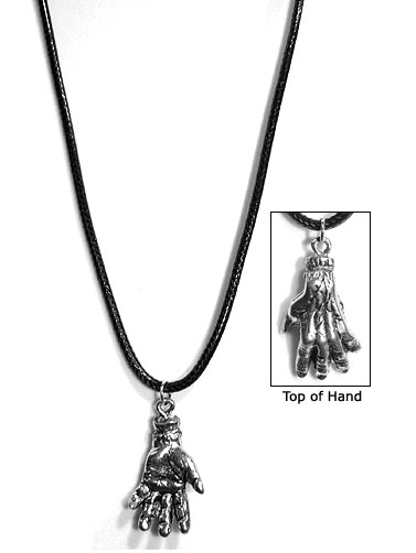 Zombie Hand Necklace