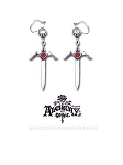 Crystal Dagger Earrings