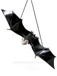 Hanging Rubber Bat Prop