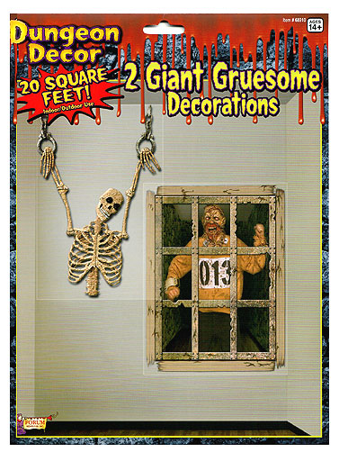 Giant Gruesome Scene Decorations