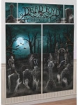 Cemetery Wall Decorating Kit