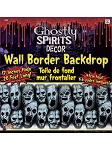 Ghostly Spirits Screaming Faces Border