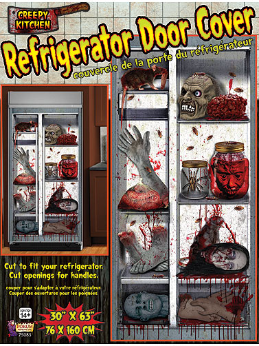 Creepy Kitchen Refrigerator Door Decoration
