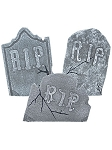 Crooked Tombstone Prop Set