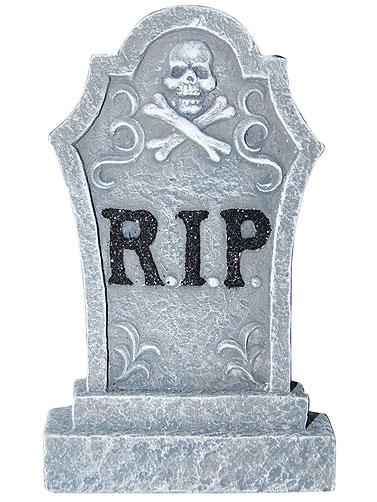 Mini Resin Tombstone Set Halloween Tombstone Props