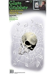 Shattered Glass Skull Cling