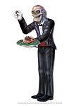 Jointed Skeleton Butler Cut-Out