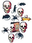 Creepy Carnival Value Pack Cut-Outs