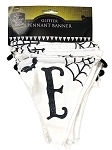 Nightmare Before Christmas Canvas Pennant Banner