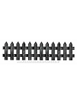 Black Picket Fence Cut-Outs