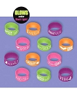 Halloween Silicone Attitude Rings