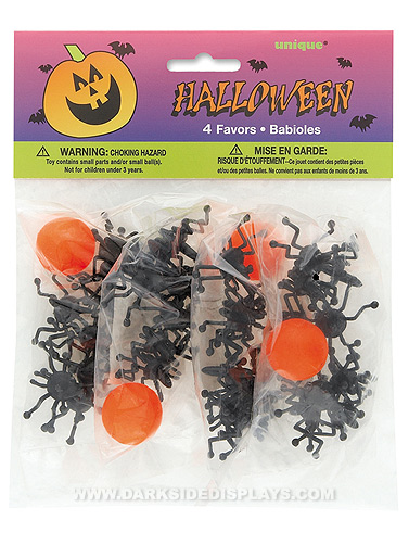 Spider Jax & Ball Party Favors