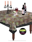 Gray Gauze Table Cover